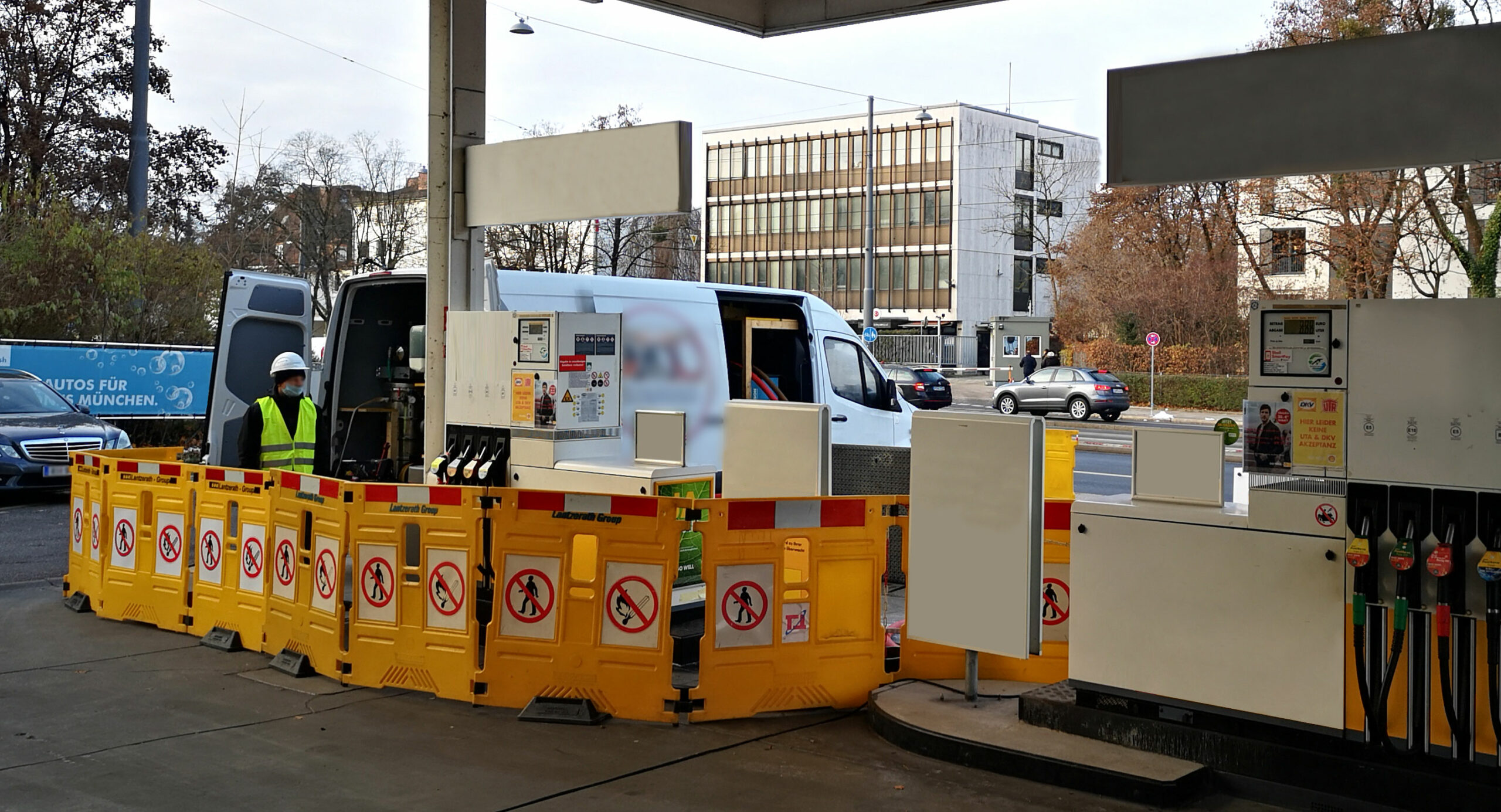Sanierung-Tankstelle-geoeffnet